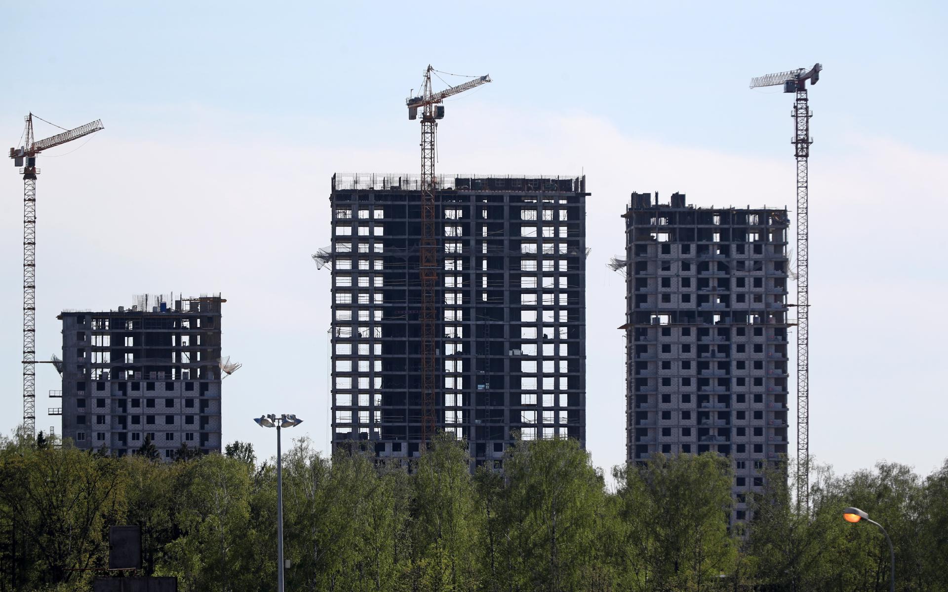 Риелторы сообщили о самом низком за 6 лет предложении новостроек в Москве
