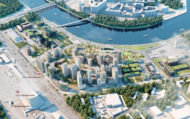 Рядом с метро «Нагатинская» появится крупный жилой комплекс с причалом_60012de740962.jpeg